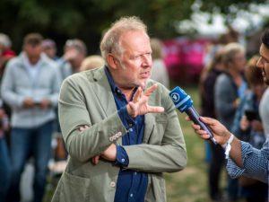 """Open-Air-Filmpremiere Tatort """"Borowski und das Haus der Geister"""""""