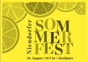 Sommerfest der Ersten
